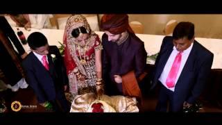 Sana & Samir Muslim Wedding highlight I Sir James Hawkey Hall Woodford Green IG8 0BG
