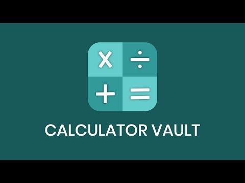 Calculator Vault - Hide Photo Video & App Lock