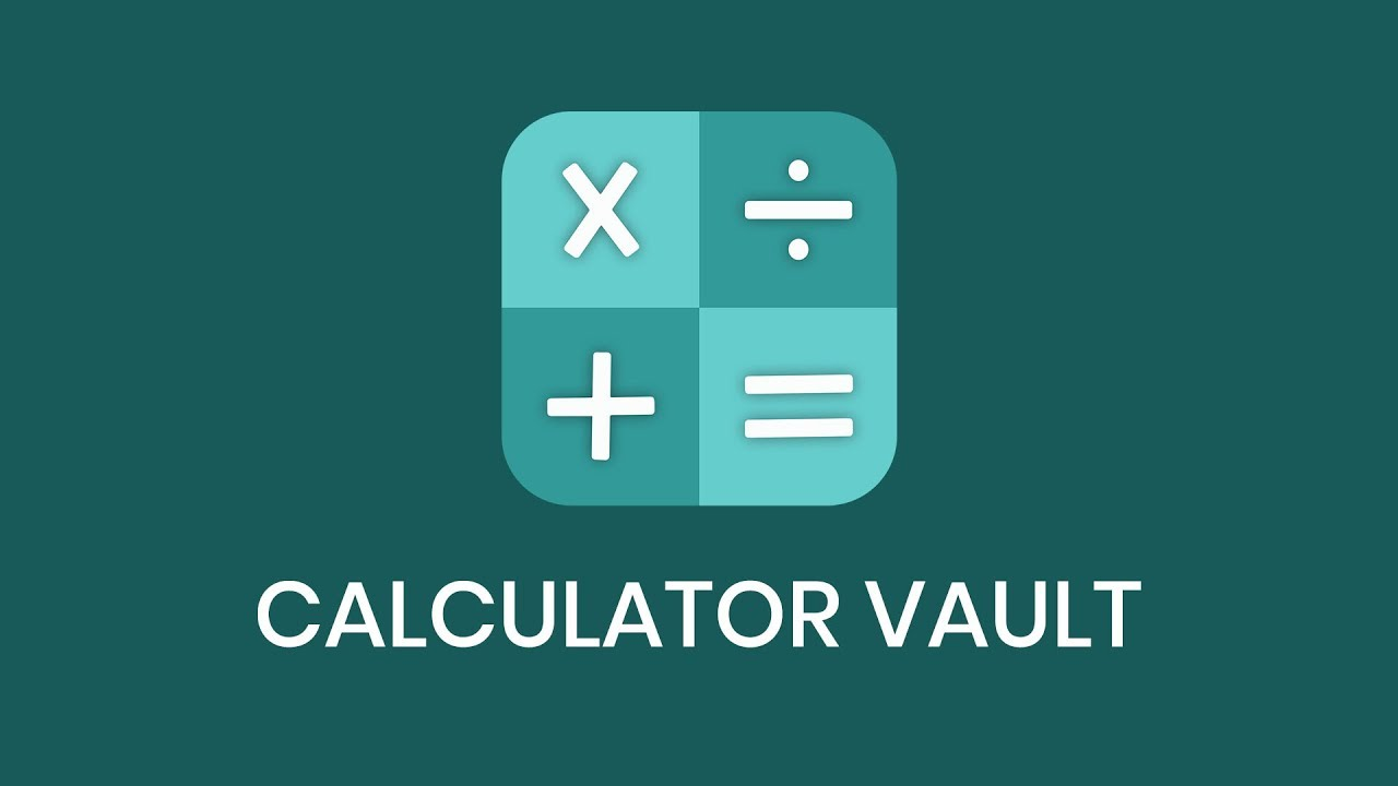 Calculator Vault - Hide Photo Video & App Lock