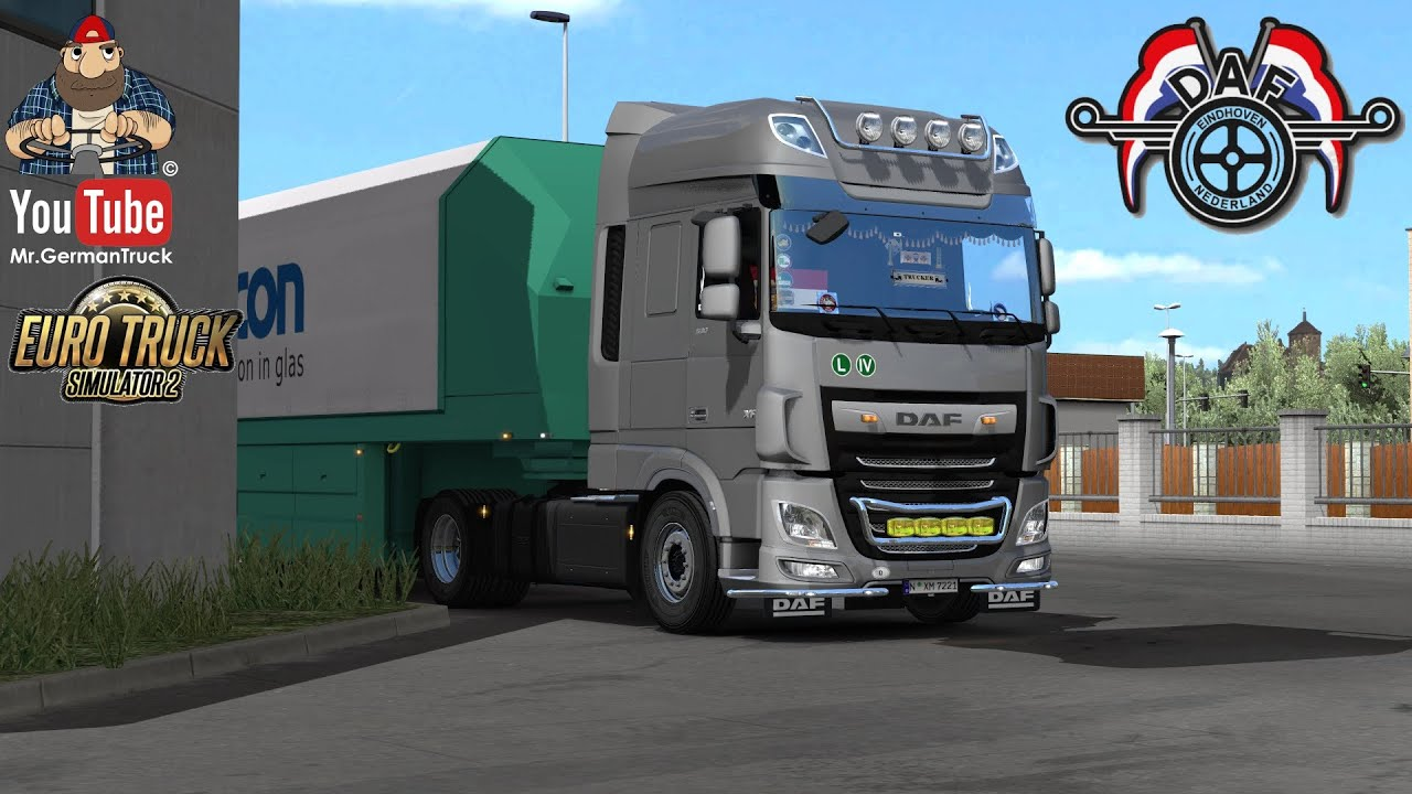 [ETS2 v1.36] DAF XF Euro6 Reworked v3.2 + New Dashboard