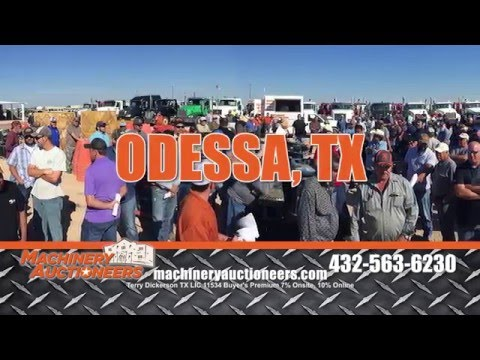 Huge Public Auction in Odessa TX