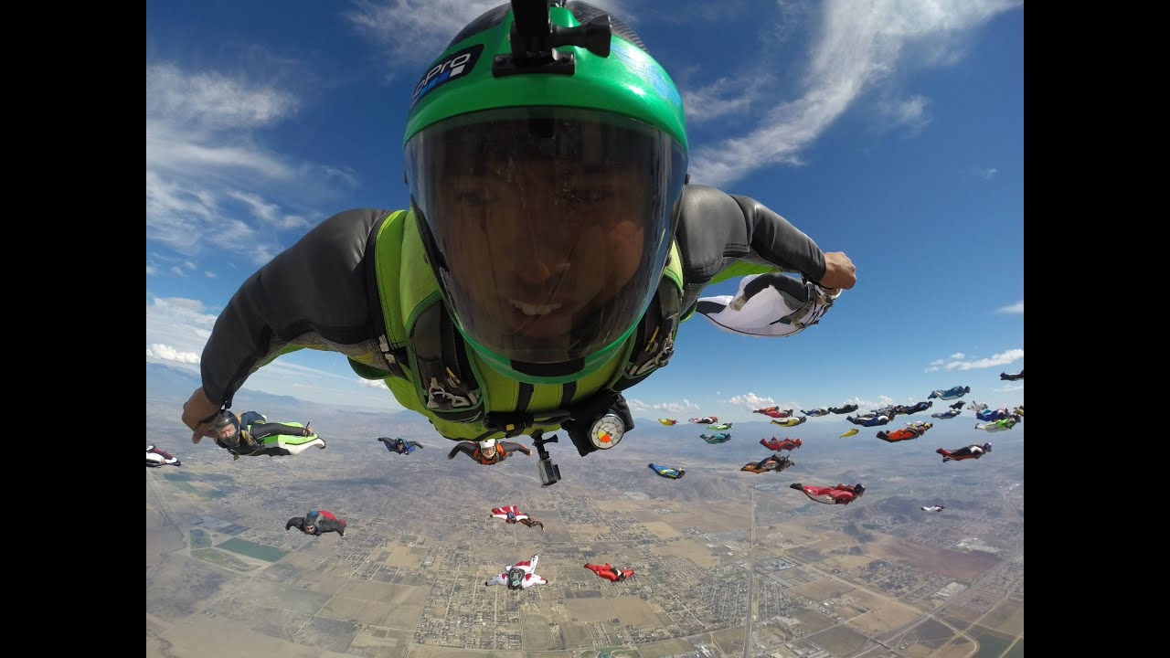 Wingsuit World Record: The Experience