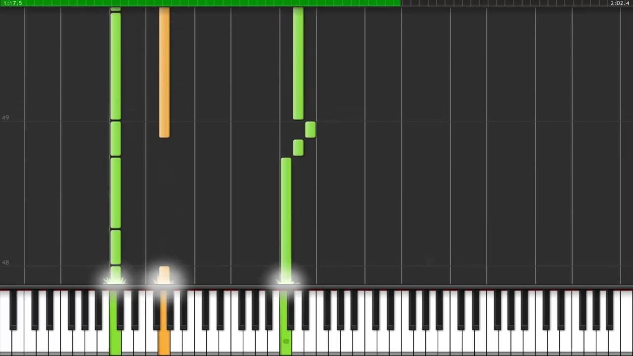 Synthesia Oracion From The Rise Of Darkrai Piano Hd Download Youtube