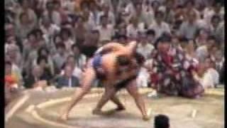 大相撲名勝負 奇跡の大逆転