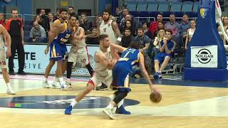 Highlights Khimki Moscow - Olympiacos BC 18-1-2018