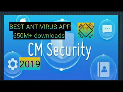 CM security APK- best antivirus