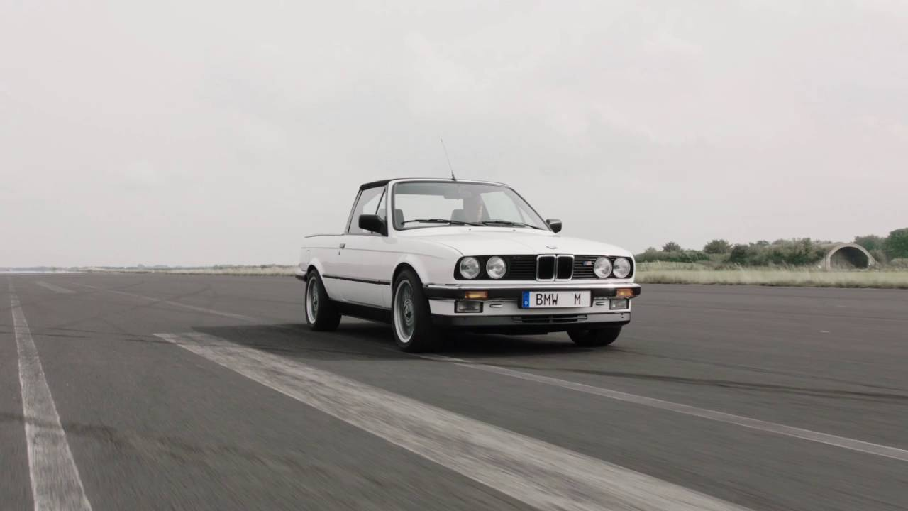30 Years Of Bmw M3 Driving Video Bmw E30 M3 Pickup Automototv