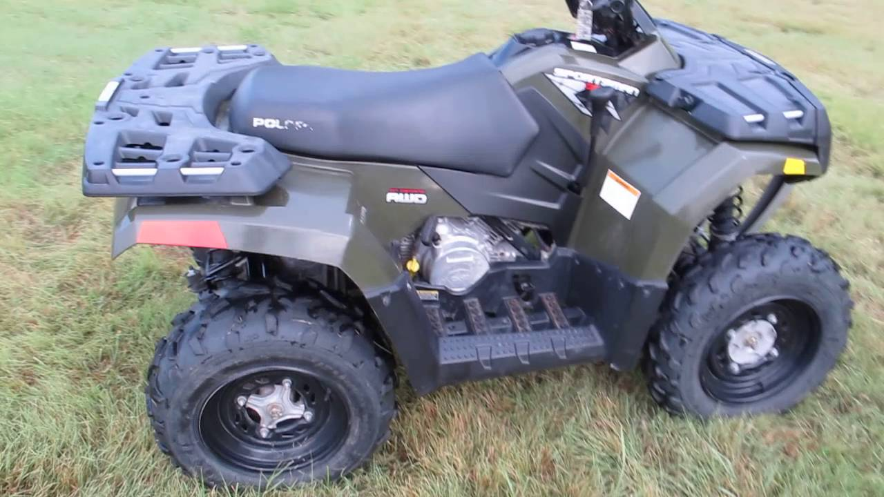 Pol304085 2008 Polaris Sportsman 300 4x4 Only 12 Hours Ifs For Sale In Texas Youtube