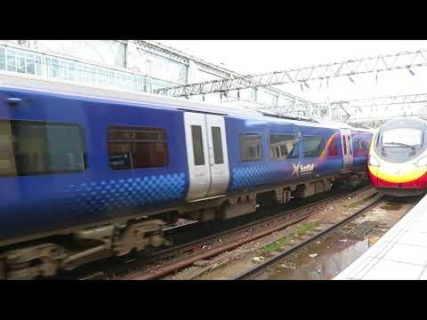 Trains at Glasgow Central PART 1