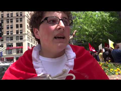 Re Occupy/ Turkish Protest Pt 2 interview with protestor