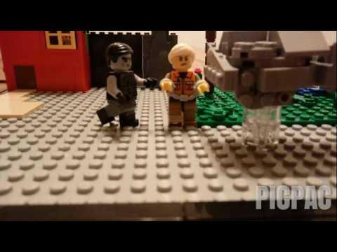 LEGO Ninjago Movie Contest Stop Motion #2 | Shade and Ash's Day at ...