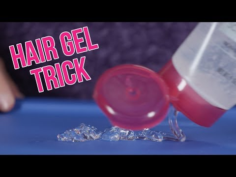 Beauty Edu: It's melting! Strange Hair Gel Trick