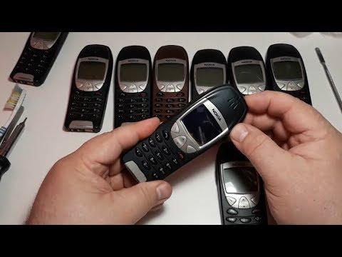 Restoration. Ремонт восстановление косметика ретро телефона из Германии Nokia 6210