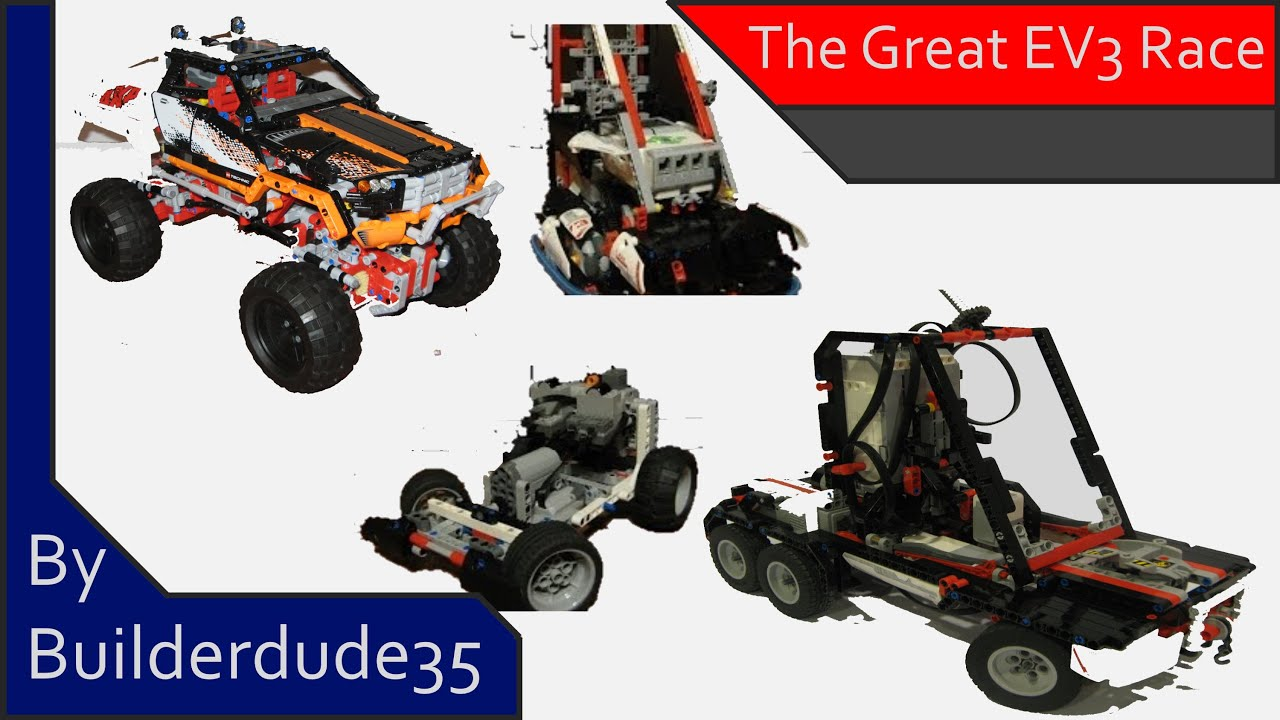 The Great EV3 Race: MINDSTORMS EV3 Creations - YouTube