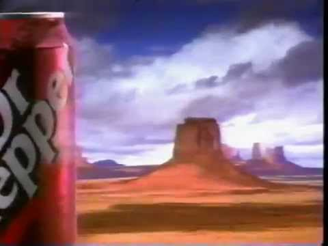 Typical 90's Commercial DR  Pepper