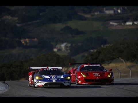 Ferrari 488 GTE and Ford GT GTE