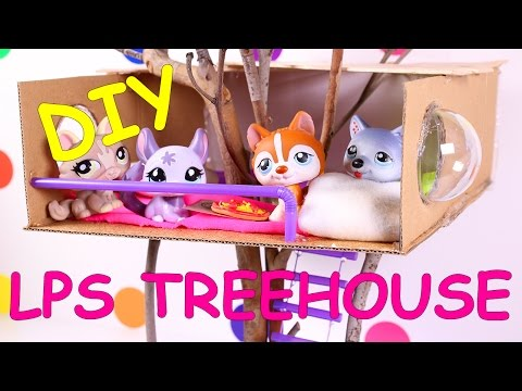 DIY LPS / Doll Treehouse