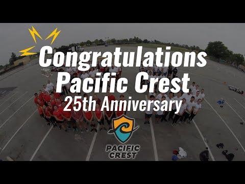 Congratulations, Pacific Crest!