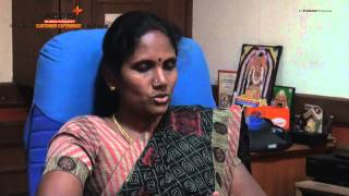 A SUCCESSFUL TEXTILE WOMAN ENTREPRENEUR- Mrs. SUMATHY SELVARAJ - AN INTERVIEW.avi