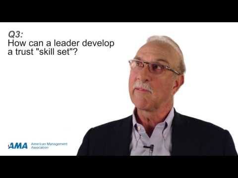 """3 Questions: Charles H. Green on Developing a Trust """"Skill Set"""