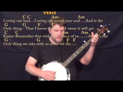Banjo banjo chords in c : Photograph (Ed Sheeran) Banjo Cover Lesson in C with Chords/Lyrics ...