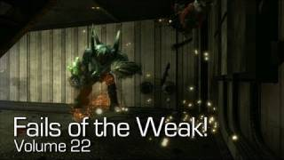Fails of the Weak: Ep. 22 - Funny Halo 4 Bloopers and Screw Ups!   Rooster Teeth