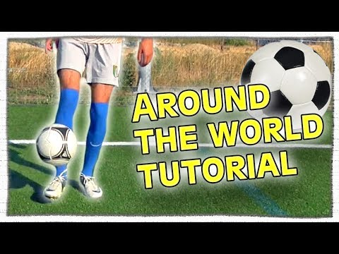 How To Do The Around The World Soccer Juggling Trick By Freekickerz