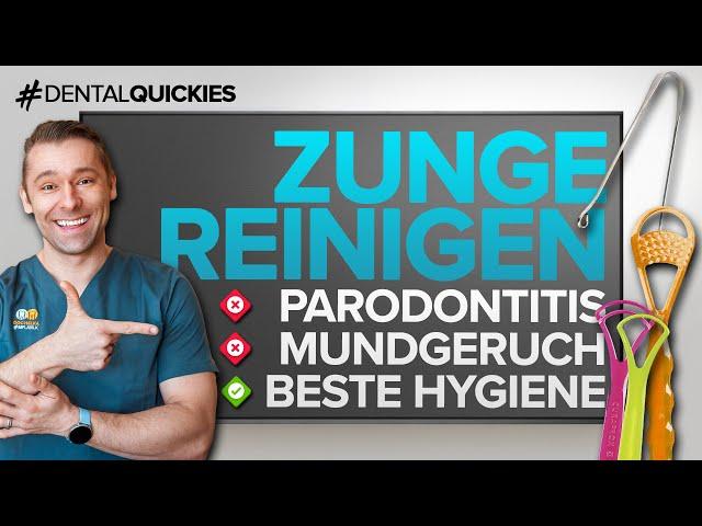 Zungenschaber & Zungenbürste - sinnvoll gegen ZUNGENBELAG & MUNDGERUCH? Alles was du wissen musst!