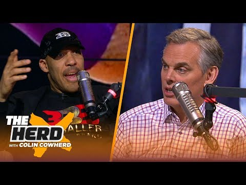 LaVar Ball reveals who he wants as Lakers HC, talks relationship with Magic Johnson | NBA | THE HERD