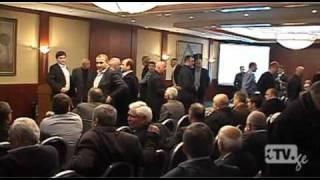 Пресс конференция Федерации футбола Грузии чуть не переросла в драку