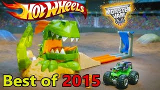 Hot Wheels Best Playsets of 2015 - Dragon Blast - Nitrobot - Science Lab - Volcano - Spin Storm