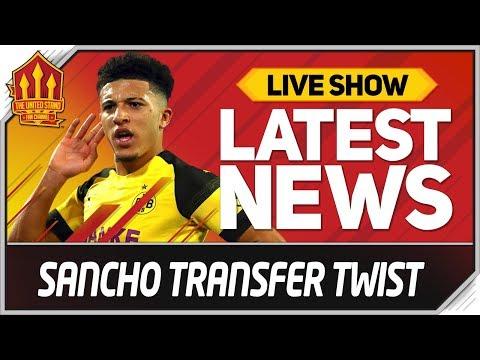 Jadon Sancho Man Utd Transfer Twist! Man Utd News