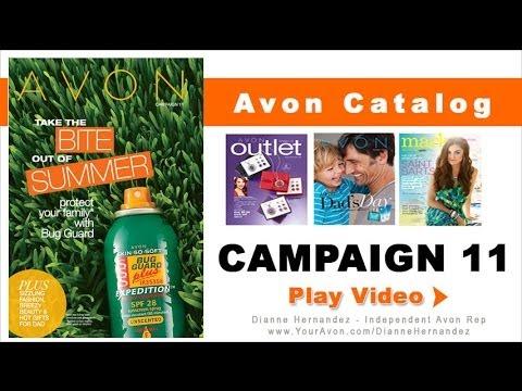Avon Catalog Campaign 11 2014