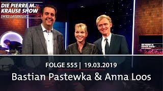 Pierre M. Krause Show vom 19.03.2019 mit Bastian und Anna