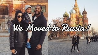 TRAVEL VLOG || LIVING IN MOSCOW, RUSSIA! EXPLORING, SHOPPING, & RACE CAR DRIVING!