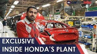 Exclusive: Inside Honda Car India's Factory | NDTV carandbike