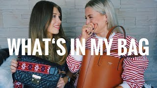 WHATS IN MY BAG mit MrsWikie | OlesjasWelt