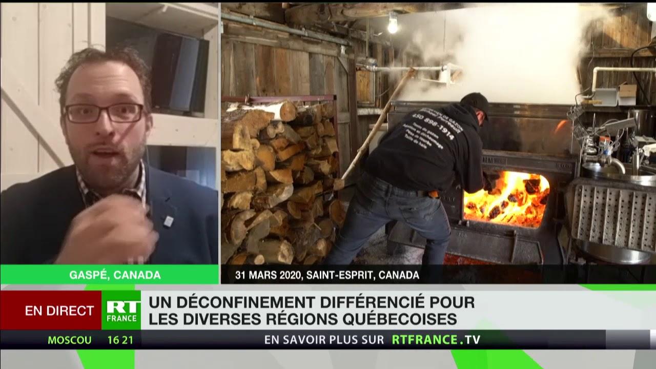 Déconfinement au Québec: «Certains maires ont la crainte de voir le déconfinement se faire trop tôt»