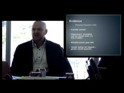 Session 2 @Risk Workshop - Joly - Genetic Discrimination Laws