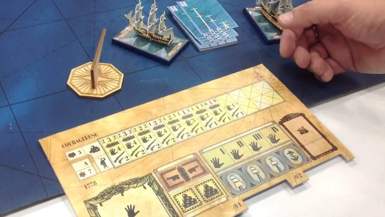 Gen Con 2013 Sails Of Glory Demo Youtube