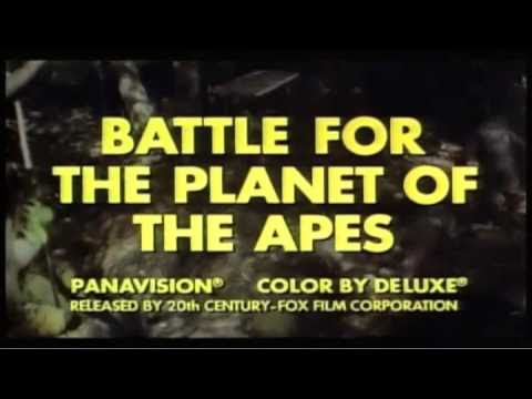 Battle for the Planet of the Apes (1973 Trailer)