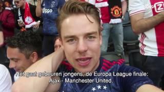 EUROPA LEAGUE FINALE AJAX - MAN UTD!! | ZIGGOCAM VLOG KOEN WEIJLAND