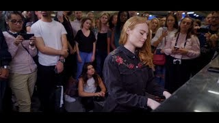 Freya Ridings - Lost Without You (Live at Tottenham Court Road Underground Station) Video