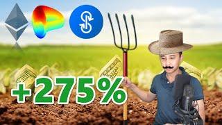 🔴 705 - 275%/Năm? Tiền Tới Từ Đâu? Lừa Đảo? | Cập Nhật Yield Farming, yearns.finance YFI
