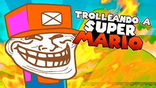 TROLLEANDO A SUPER MARIO | iTownGamePlay