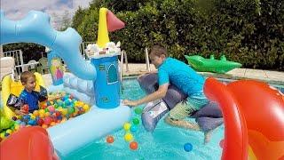 Instant video play vlog parc aquatique aquaboulevard for Swan et neo piscine
