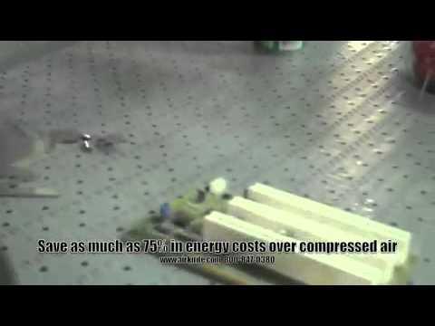 Republic Air Knives - Drying Parts