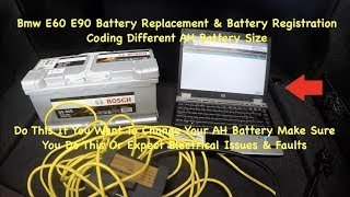 Bmw Battery Replacement & Battery Registration With Ista D & Ncs Expert You Been Doing This Wrong