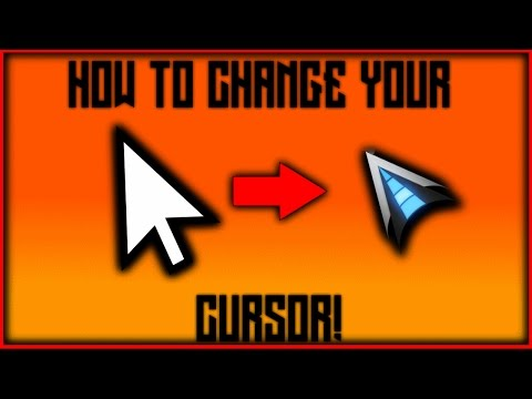 How To Change Your Cursor - Windows 10 - 2018