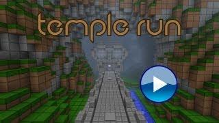 Minecraft: Temple Run (Interactive Redstone/Parkour game)(Minecraft 1.5.1)
